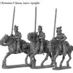 PRU 10 Uhlans, lance upright