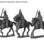 PRU 4 Curiassiers, drawn swords