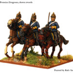 PRU 7 Dragoons, swords drawn